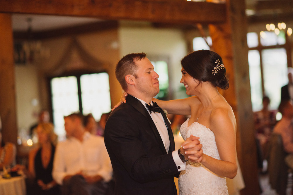 NH Wedding Photography: first dance BVI