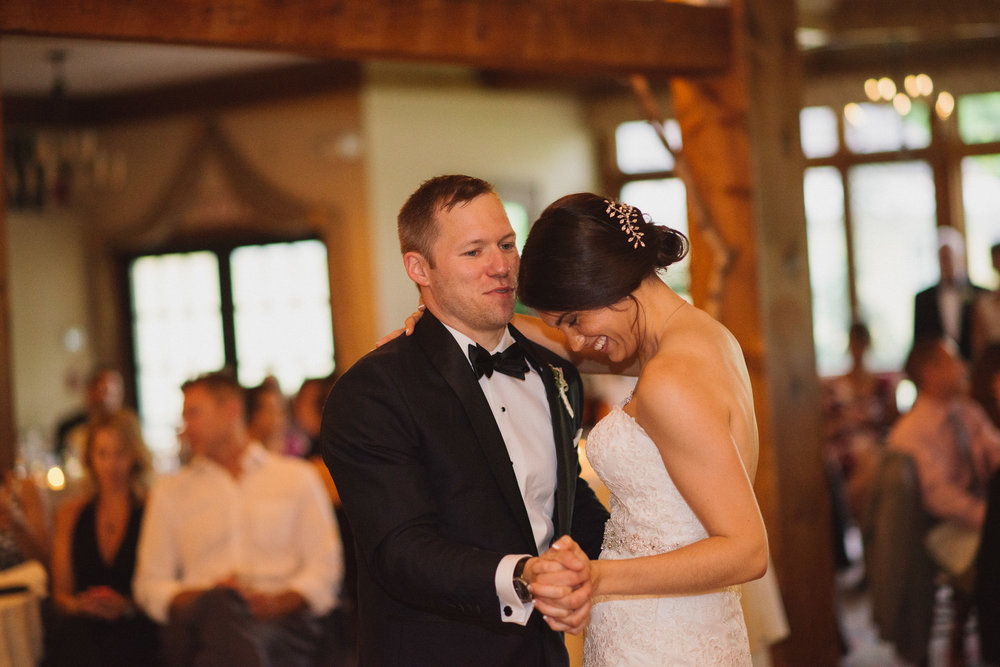 NH Wedding Photography: BVI first dance