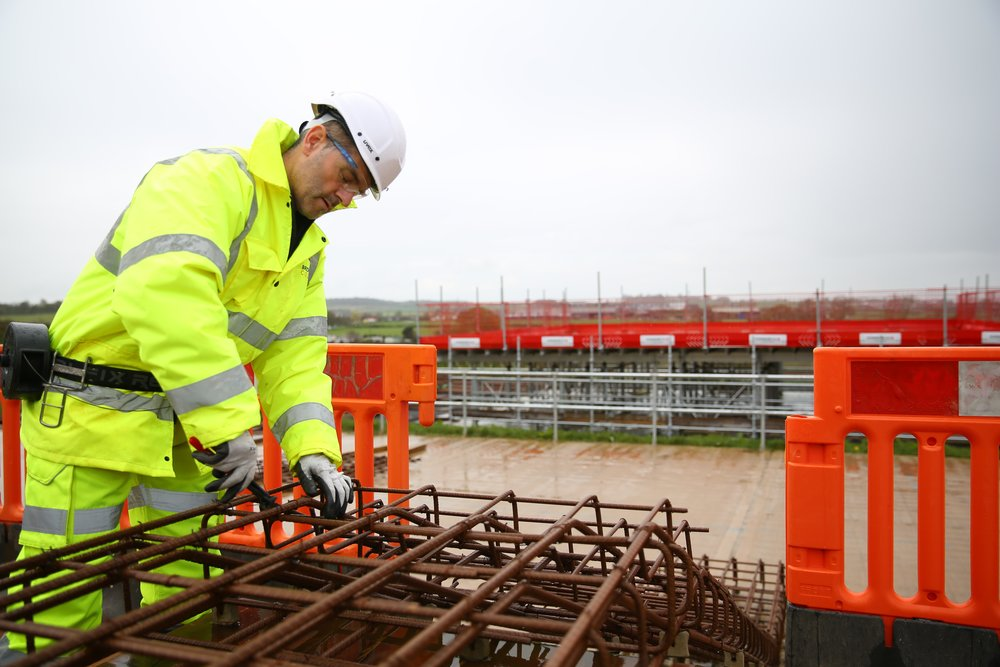 Bridgwater-college-steel-fixing