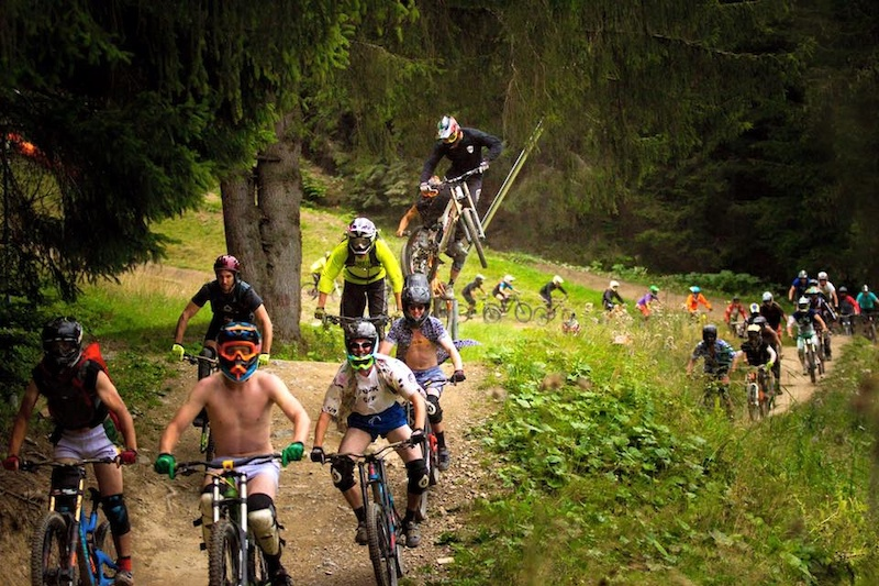 Morzine Bike Train