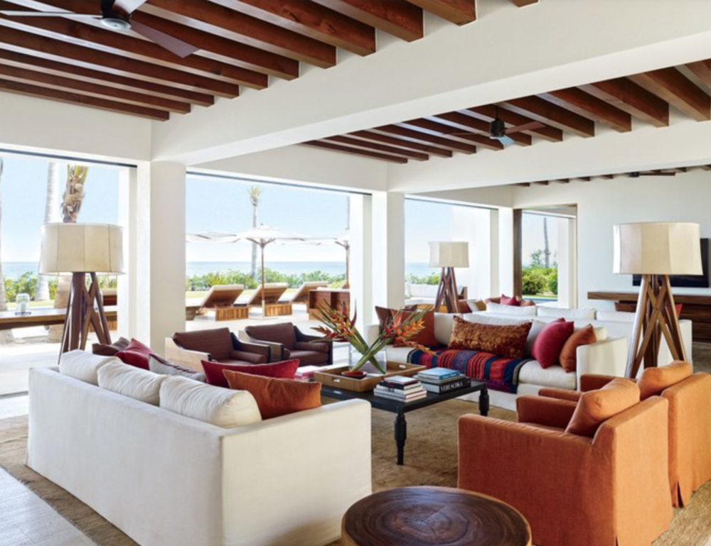 Cindy Crawford and Rande Gerber Mexican Villa