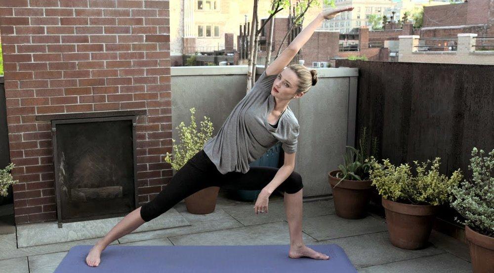 Miranda Kerr Has been a fan of Yoga for years