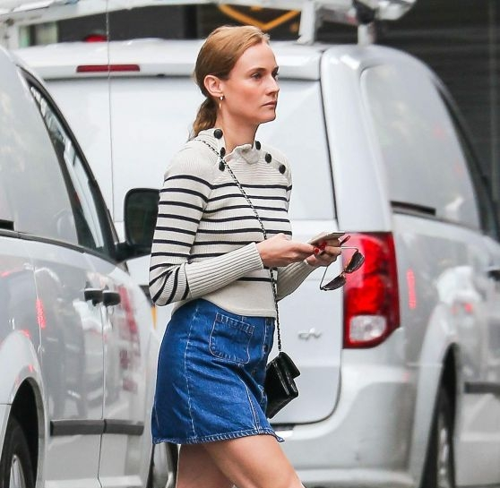 Diane Kruger in NYC
