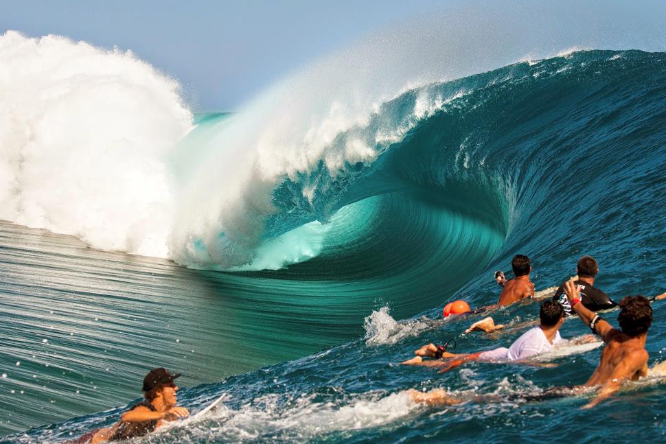 Teahupo'o, Tahiti