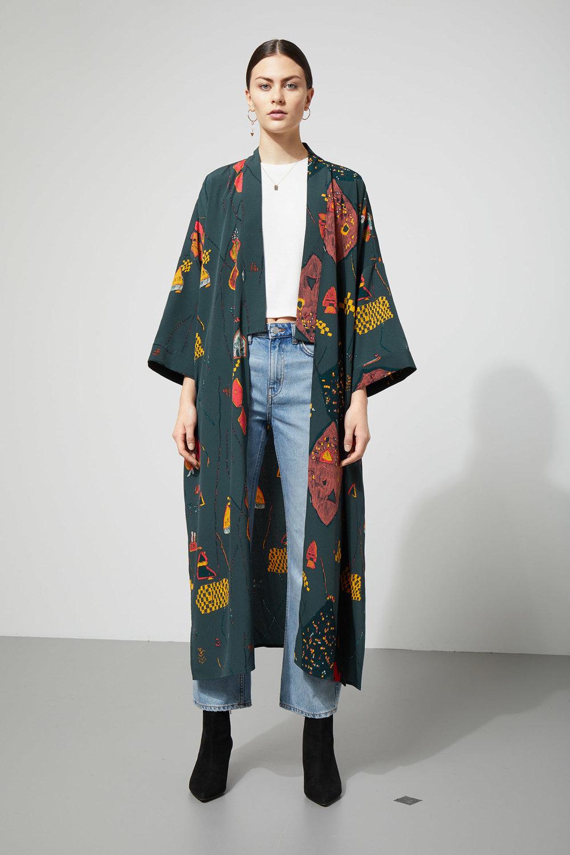 Bass Kimono