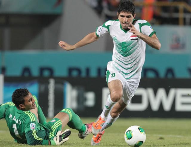 This kid will be big for Iraqi football. Mohannad Abdul-Raheem (AP©) b07cb429d