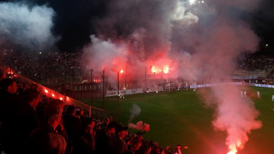 The 4th Division Bucharest Derby between Steaua & Rapid. Scenes, Scenes, Scenes (Emanuel Rosu FB page)