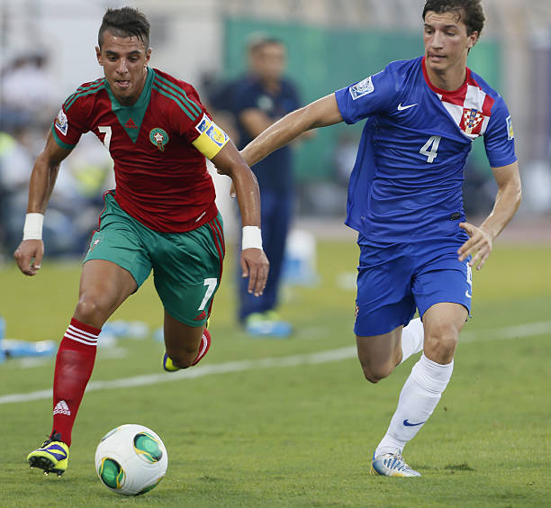 Nabil Jaadi in better days with the Morocco U-17 national team (Getty Images)