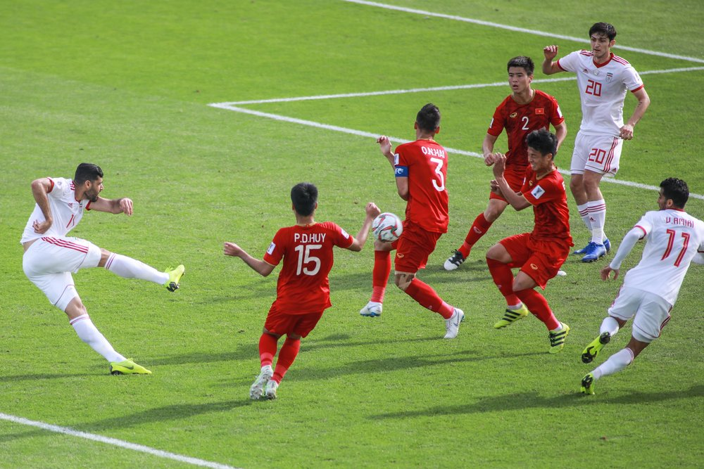 Vietnam struggled but it was a good test for their young player (Asian Football Confederation (AFC))