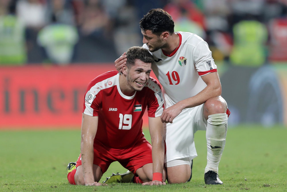 Mahmoud Wadi, Palestine finish third but can't celebrate yet (Asian Football Confederation (AFC))