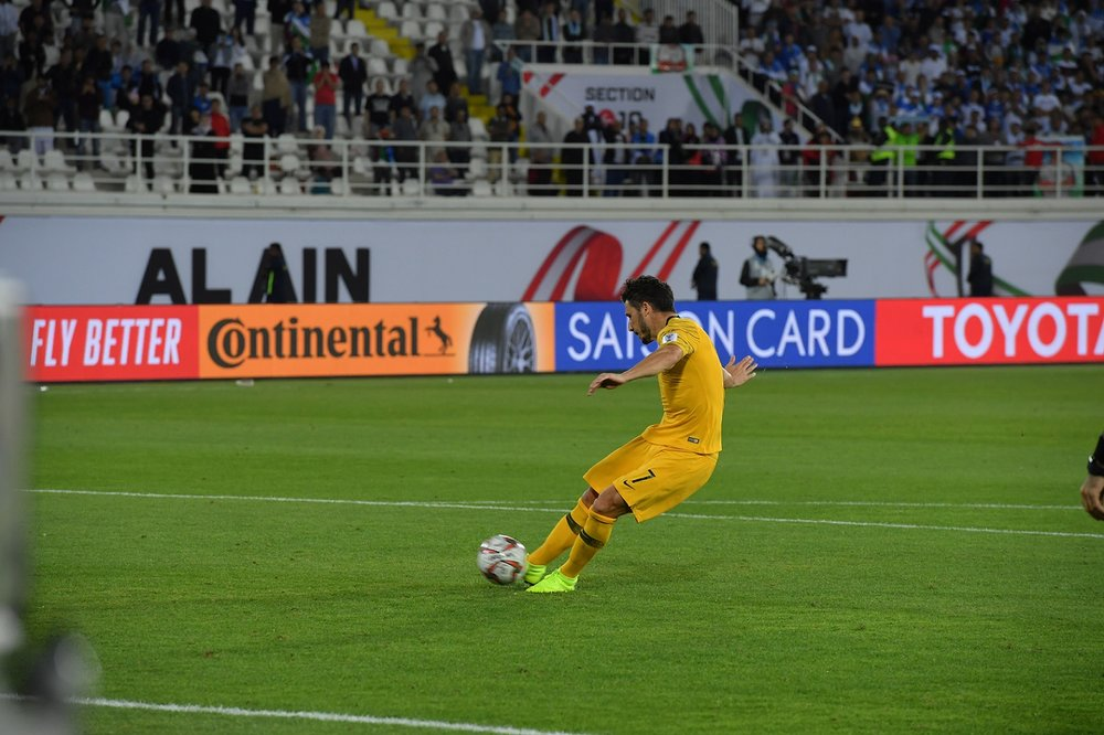 Mathew Leckie's winning penalty, Australia couldn't find the net in 120 minutes (Asian Football Confederation (AFC))