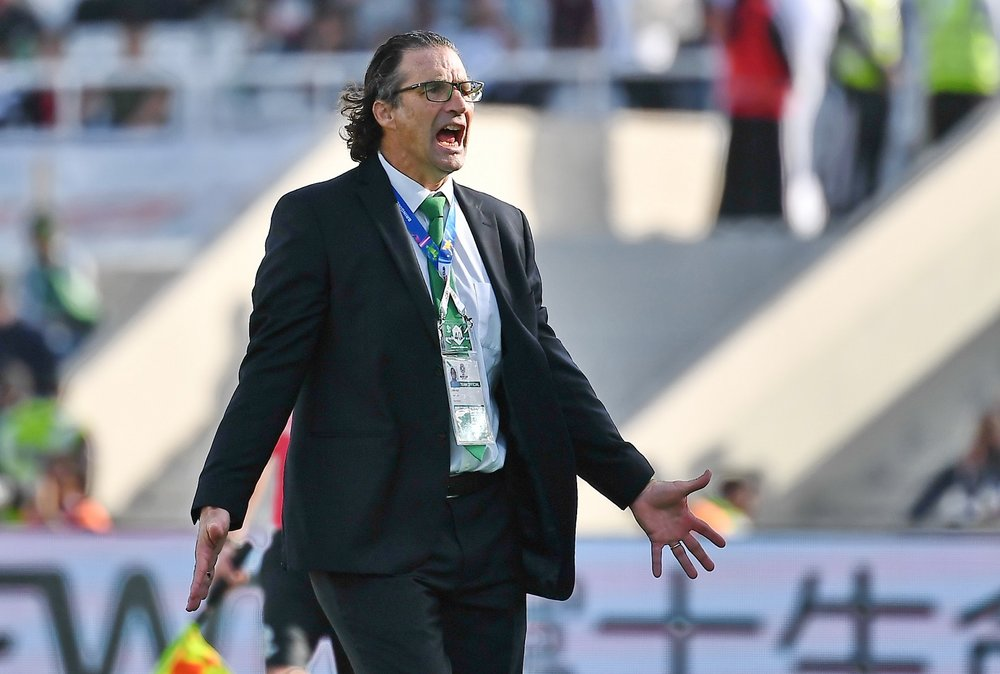 Juan Antonio Pizzi, was it his last match as Saudi Arabia manager? (Asian Football Confederation (AFC))