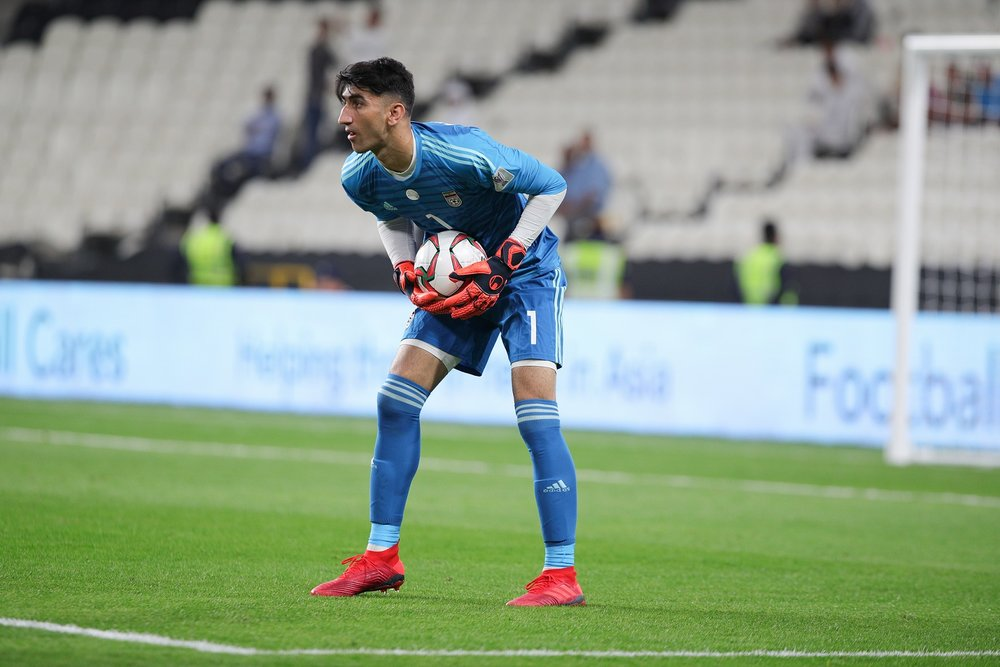 Beiranvand, didn't disappoint Queiroz (Asian Football Confederation (AFC))