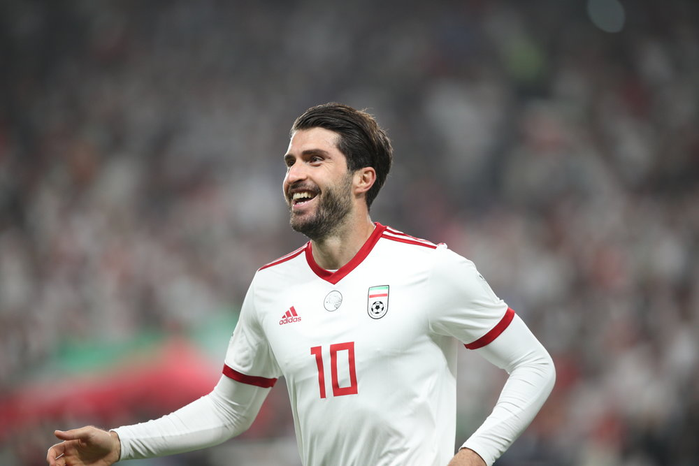 Karim Ansarifard, completed Iran's scoring list tonight (Asian Football Conederation (AFC))