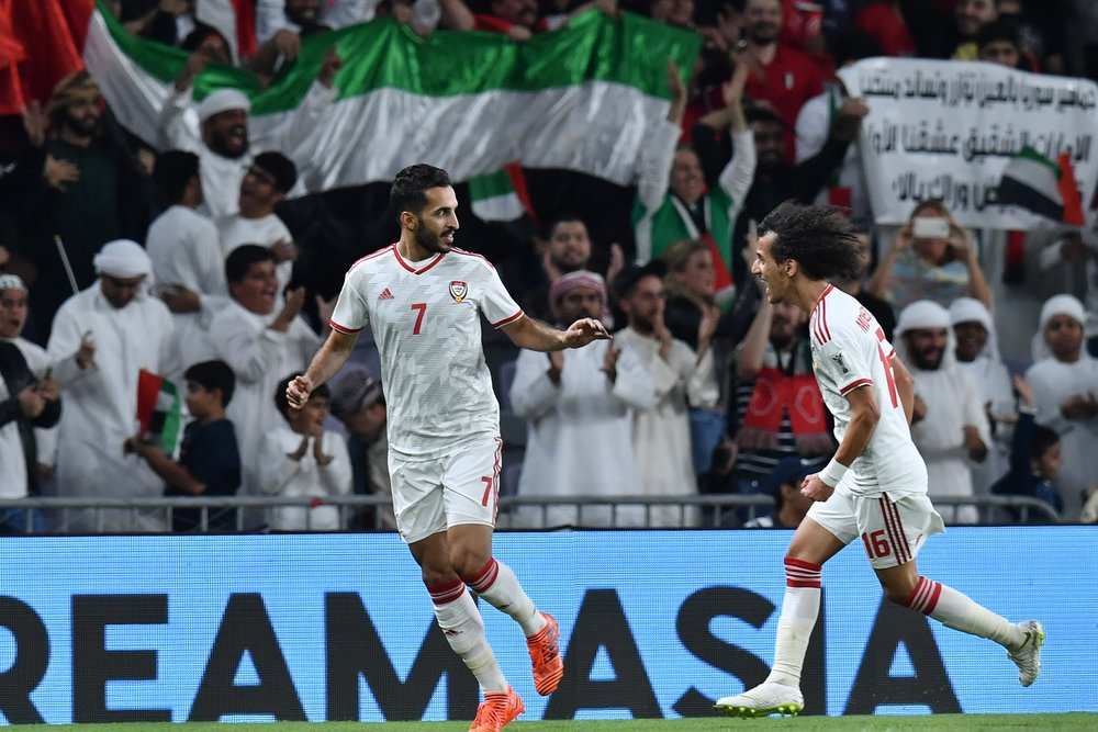 Ali Mabkhout, scored the winning goal in front of the home crowd (Asian Football Confederation (AFC))