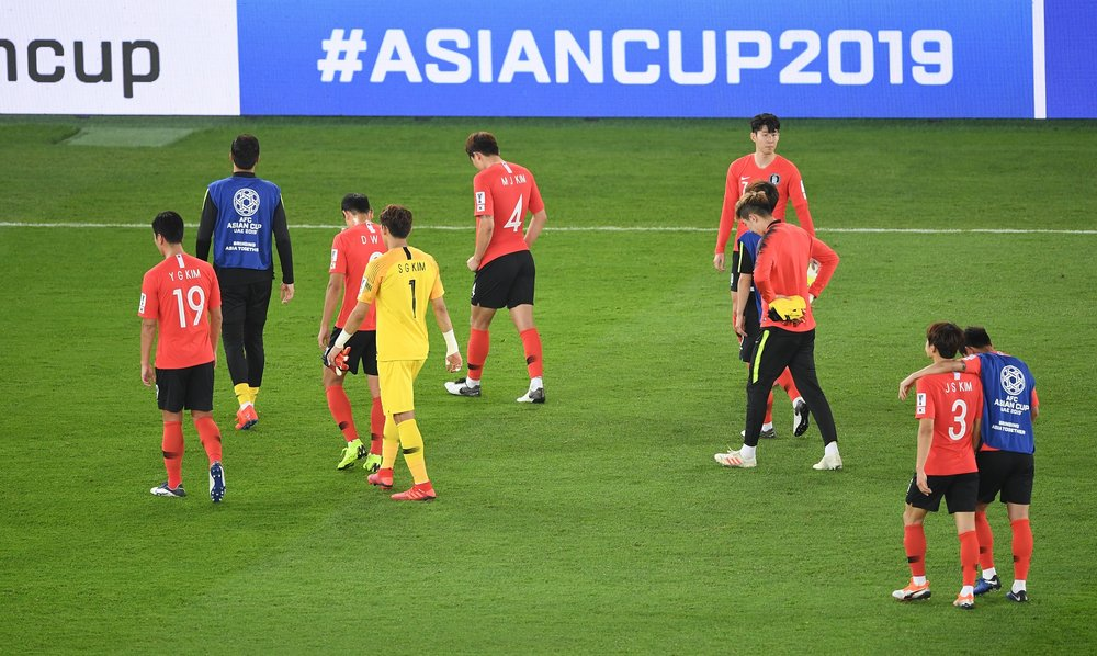 South Korea, disappointing finish for the Asian Cup campaign (Asian Football Confederation (AFC))