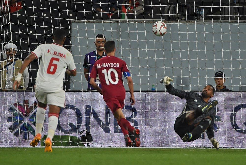 Hassan Al-Haydos, scored in a stylish chip (Asian Football Confederation (AFC))