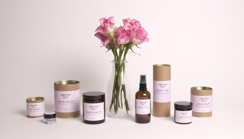 Nathalie Bond Organics Skincare Range