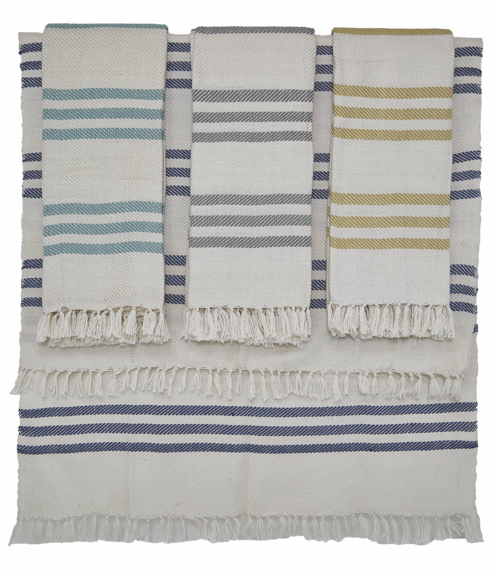 Weaver Green Rugs and Towels