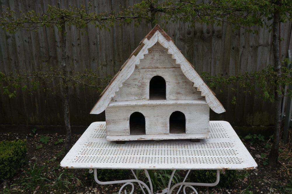 Dovecotes in various sizes, made out of reclaimed wood