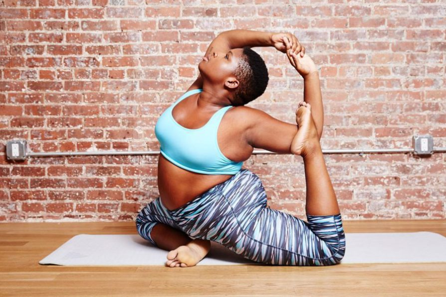 3. Jessamyn Stanley  Jessamyn is a yoga teacher and an advocate for body positivity. She wants to represent curvy women in a positive way. She also wants to make women feel confident no matter what shape or size they are.  Photo Credit: https://www.bandier.com/blog/jessamyn-stanley