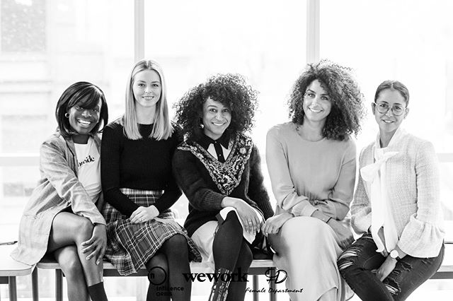 #WCW | One of the best things (amongst many) about having @female_department is getting to use the platform to highlight both the women I've always admired from afar, and those whom I see everyday, but whose importance in my life often goes unsaid. I love you all. #InfluenceHER x @influenceorbis x @weworkcanada | 📸: @tora.photography #WomensMonth ✨