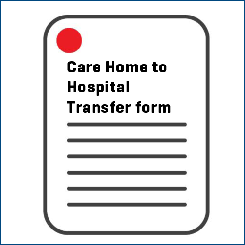 Care Home to Hospital Transfer form
