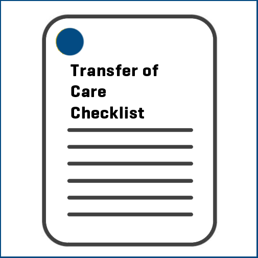 Transfer of Care Checklist