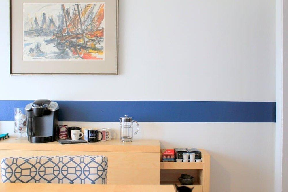 airbnb coffee bar