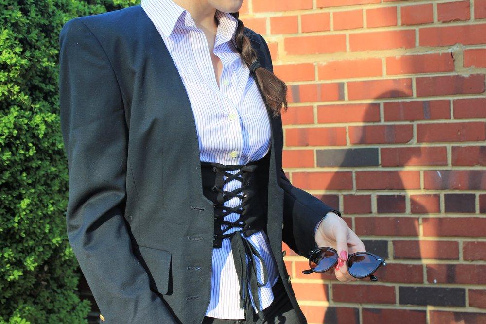 spring 2017 trend corset belt