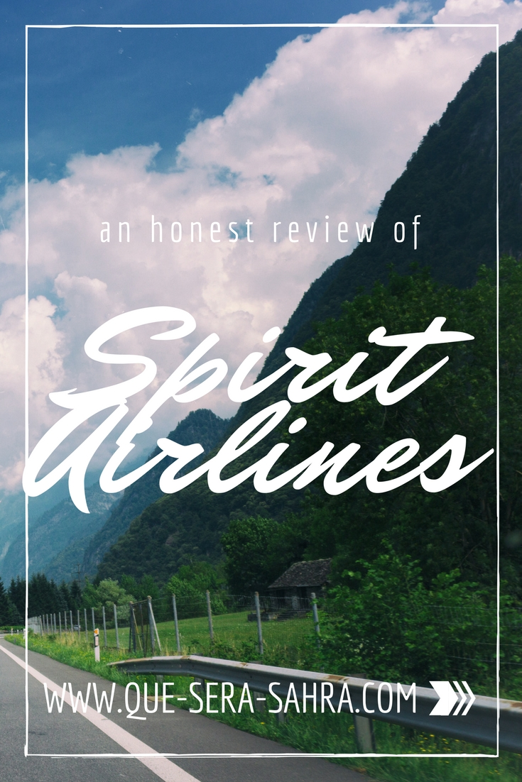 An Honest Review of Spirit Airlines
