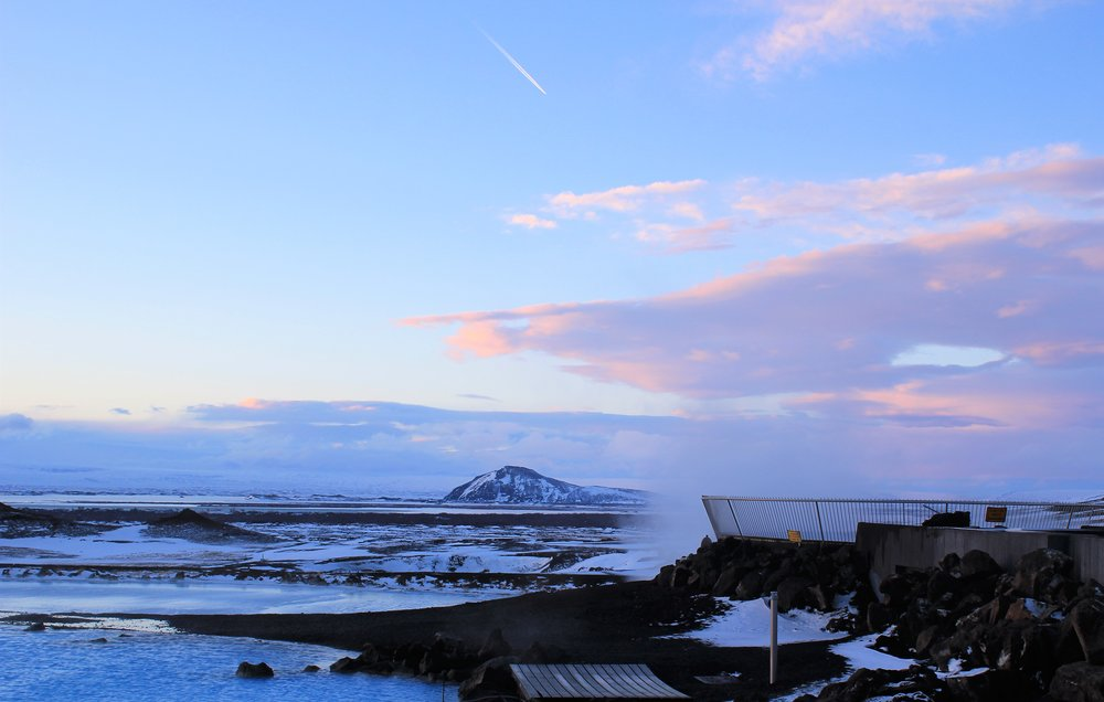Iceland Landscape in Winter