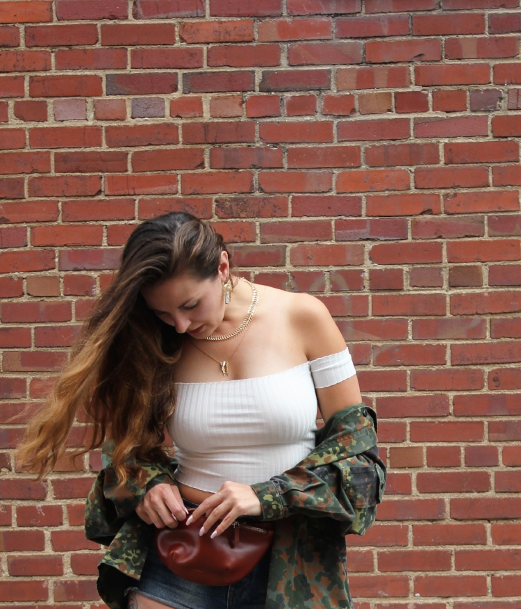 Off The Shoulder and camo