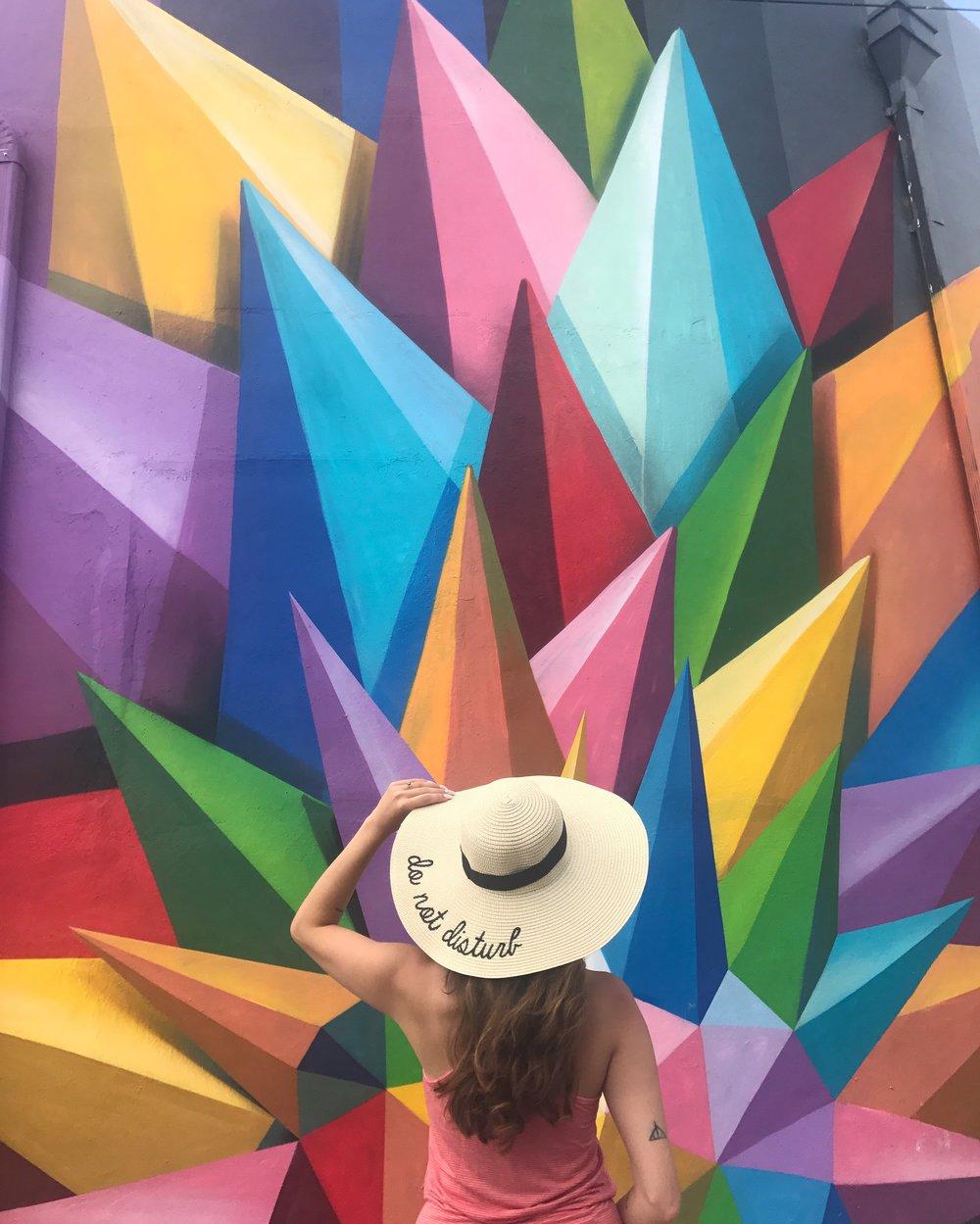 Style Blogger Wynwood Walls