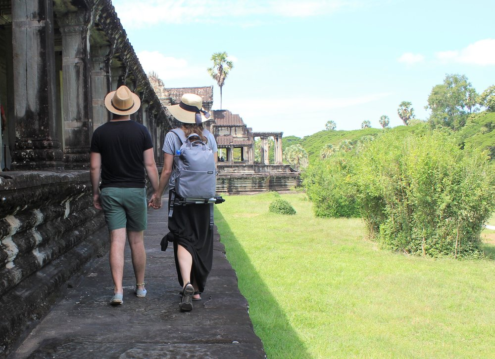 Honeymoon to Angkor Wat