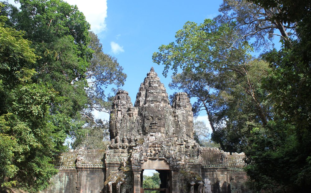 Entrance to Bayon Angkor Wat
