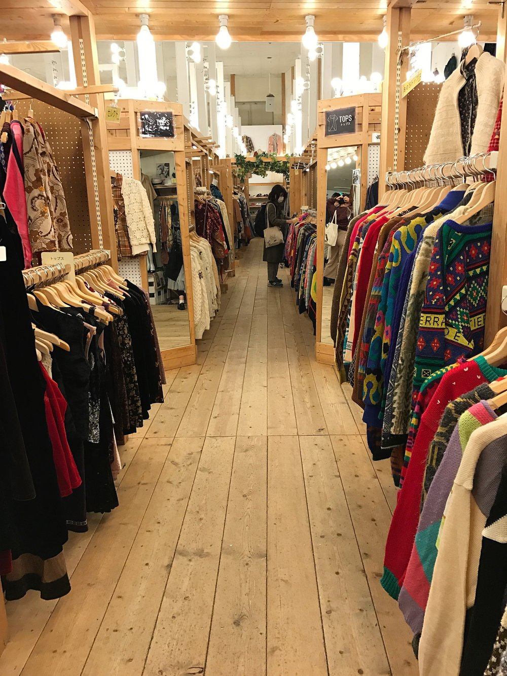 Best Vintage Shopping in Kyoto - Three Stars