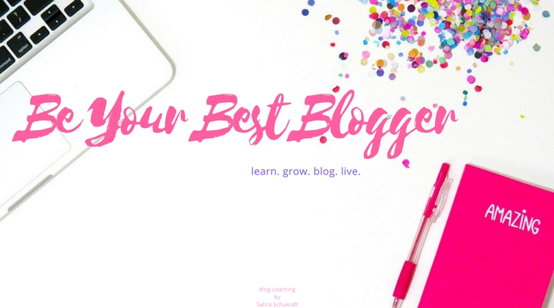 Be Your Best blogger