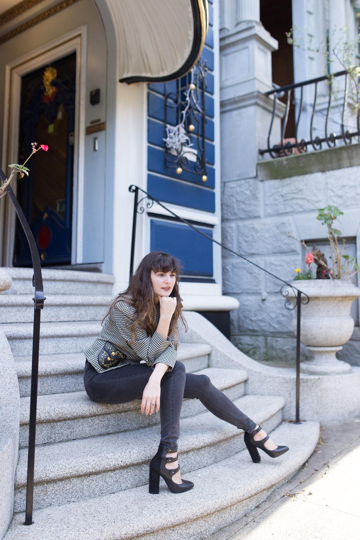 San Francisco Style blogger Sahra of Que Sera Sahra