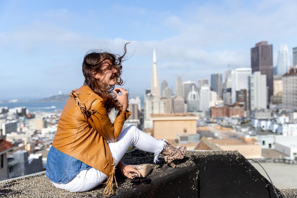 San Francisco Style Blogger Que Sera Sahra