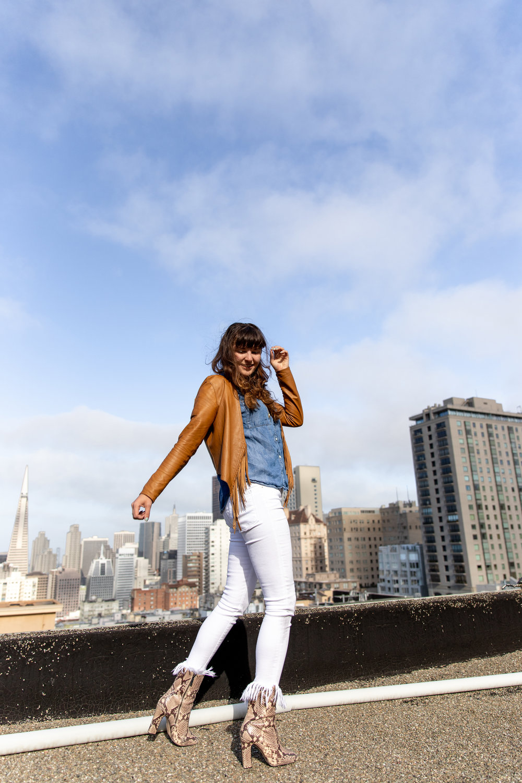 Que Sera Sahra, San Francisco style blogger