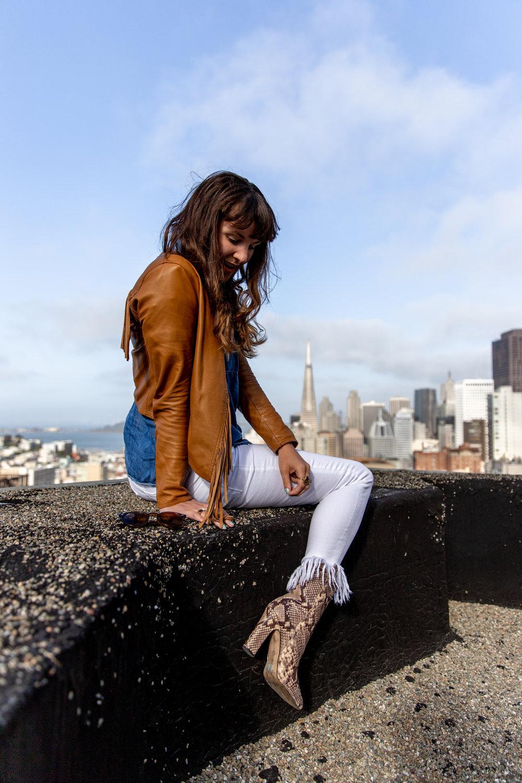 Style Blogger Sahra of Que Sera Sahra