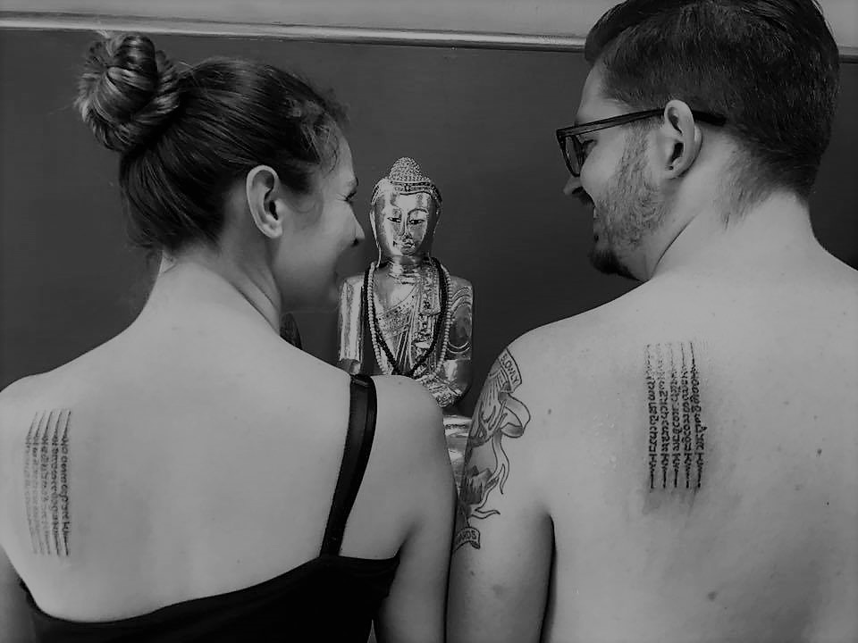 blessed sak yant tattoos - honeymoon in Thailand and 12 other photos to inspire you to visit Th