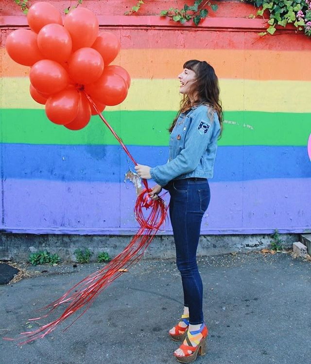 Happy #DCPride to all my DCBabes! Our country has been pretty terrible to the LGBTQ community, but we're all here, to celebrate and say they can't take your rights away. I'm an Ally who has fought and will continue to fight for all to be equal. #prideweekend #gaypridemonth