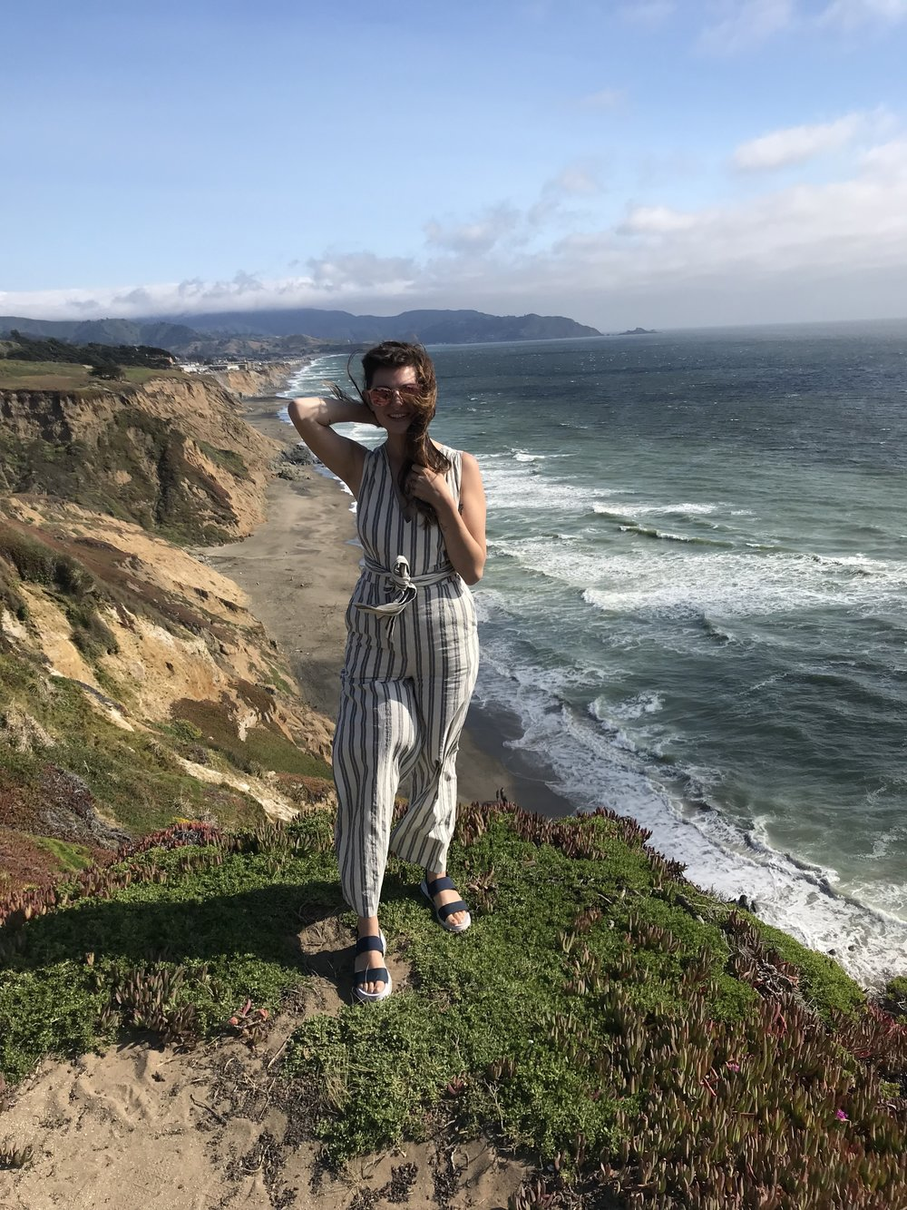 The Striped Jumpsuit - a must for Summer 2018