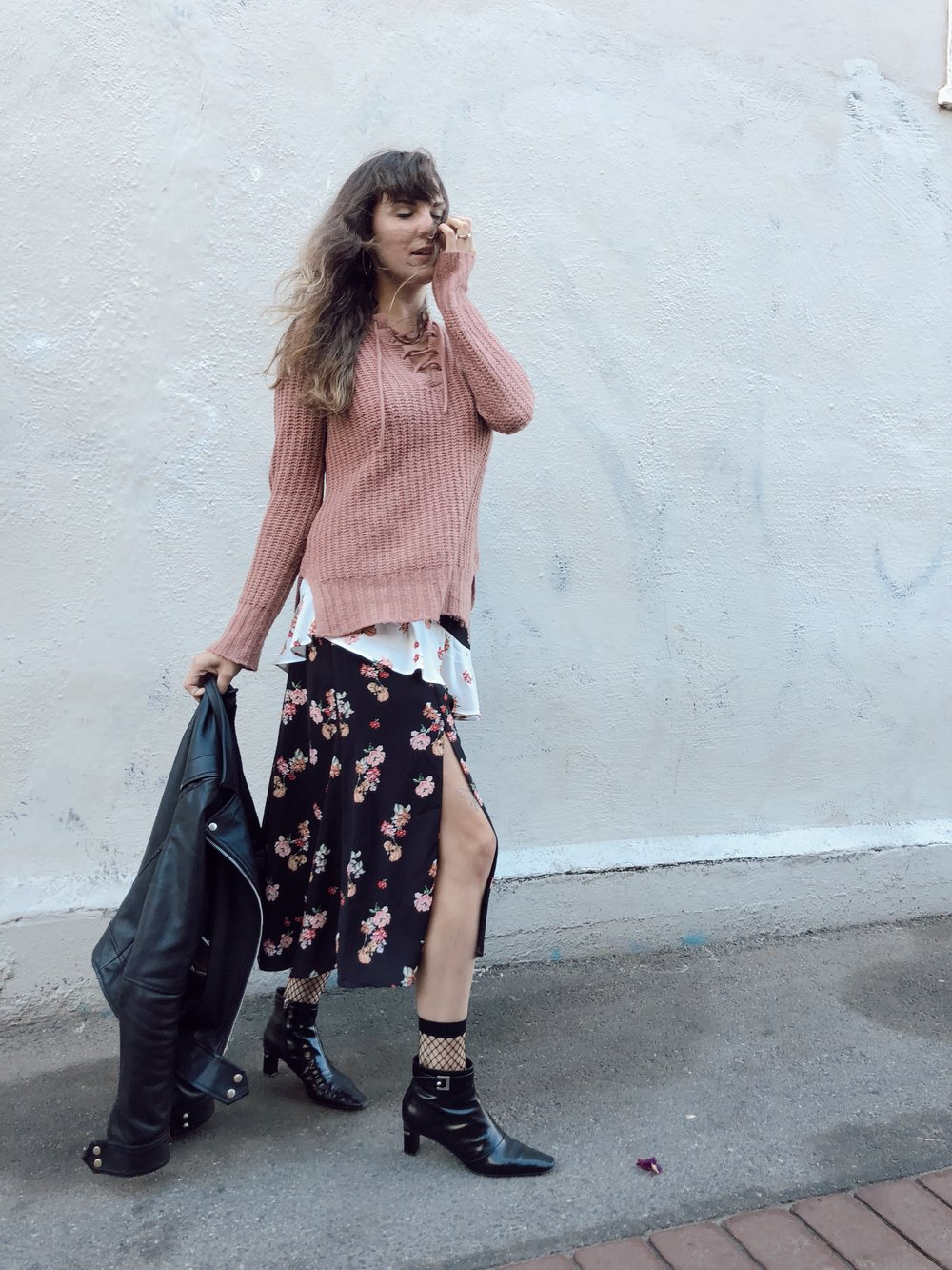 Floral Summer Dress for Fall