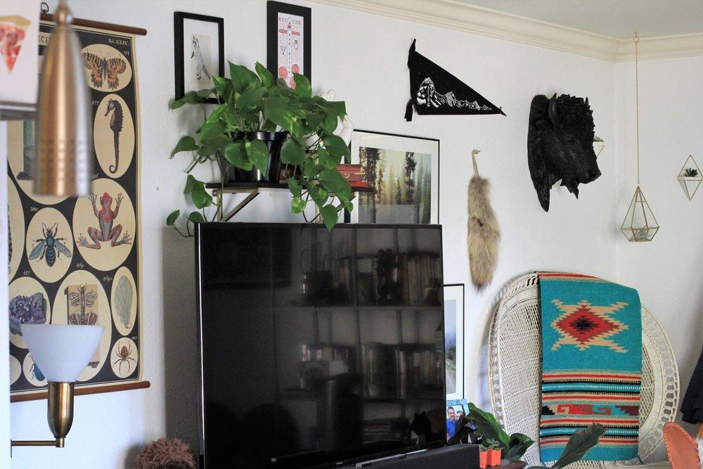 Boho and bright - Que Sera Sahra's SF Home