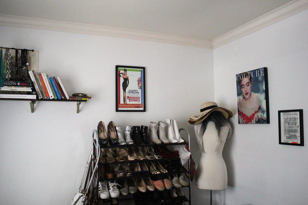 Blogger Closet Office - Que Sera Sahra