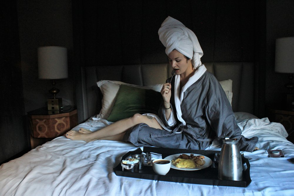 Breakfast in Bed - Kimpton's Mason and Rook in Washington DC