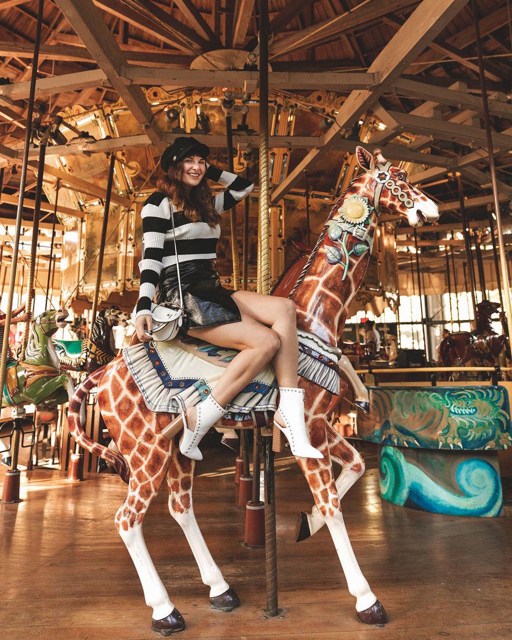 Carousel Fashion Blogger